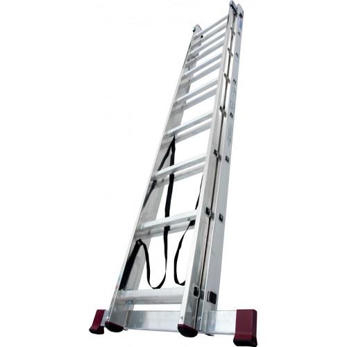 Универсальная 2-секционная лестница KRAUSE Corda 2x8 ст.