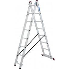 Универсальные двухсекционные лестницы