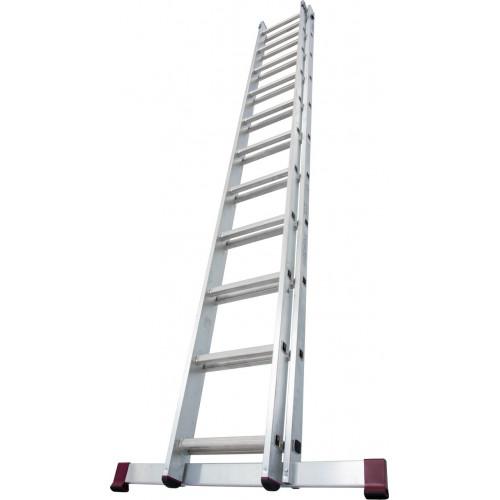 Приставная 2-секционная лестница KRAUSE Corda 2x11 ст.