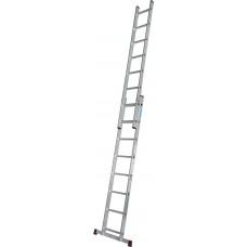 Приставная 2-секционная лестница KRAUSE Corda 2x8 ст.