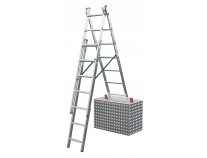 Универсальная 3-секционная лестница KRAUSE Corda 3x7 ст. TR