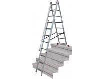 Универсальная 3-секционная лестница KRAUSE Corda 3x8 ст. TR