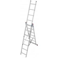 Универсальные трехсекционные лестницы