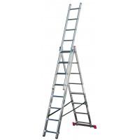 Универсальная 3-секционная лестница KRAUSE Corda 3х8 ст.