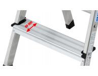 Стандартная глубина ступеней - 80 мм