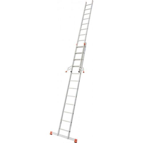 Приставна 2-секційна драбина KRAUSE Fabilo 2x12 сх.