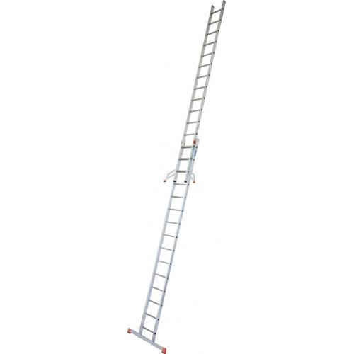 Приставная 2-секционная лестница KRAUSE Fabilo 2x15 ст.