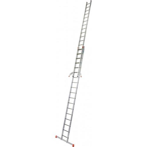 Приставная 2-секционная лестница KRAUSE Fabilo 2x18 ст.