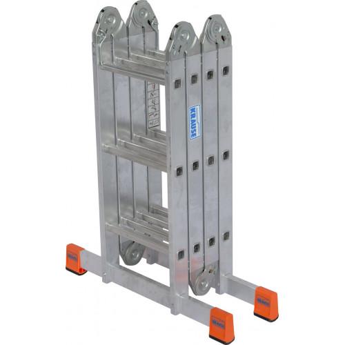 Шарнірна 4-секційна драбина KRAUSE MultiMatic 4х3 сходинки