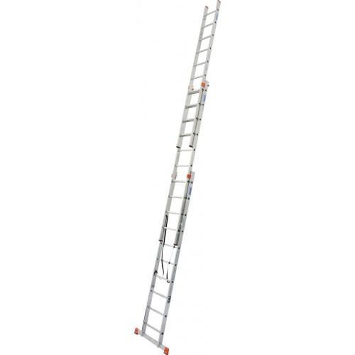 Универсальная 3-секционная лестница KRAUSE Tribilo 3x10 ст. TR