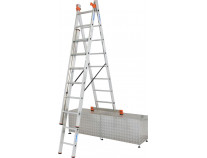 Универсальная 3-секционная лестница KRAUSE Tribilo 3x8 ст. TR