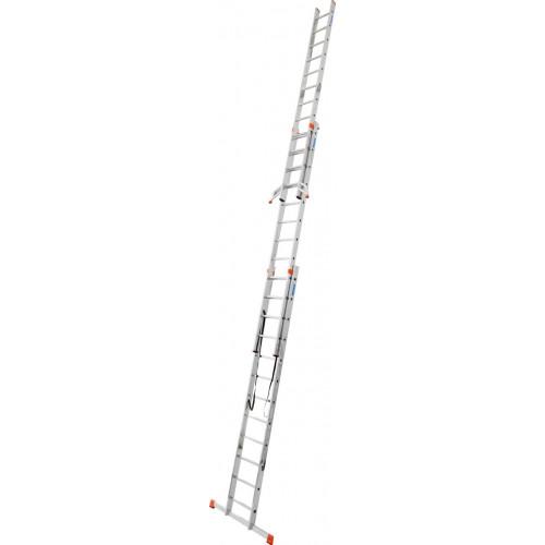 Універсальна 3-секційна драбина KRAUSE Tribilo 3x12 сх. TR