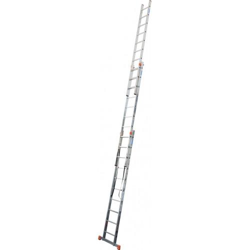 Универсальная 3-секционная лестница KRAUSE Tribilo 3х10 ст.