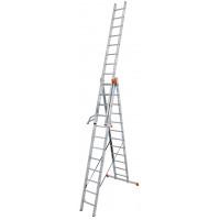 Универсальная 3-секционная лестница KRAUSE Tribilo 3х12 ст.