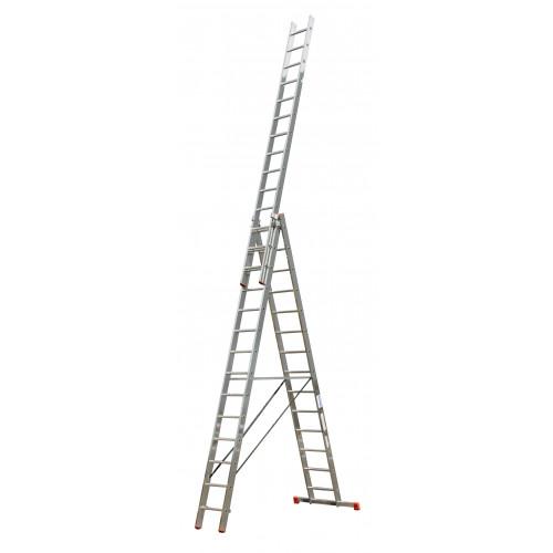 Универсальная 3-секционная лестница KRAUSE Tribilo 3х14 ст.