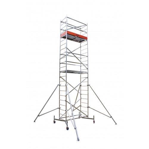 Алюминиевая вышка-тура KRAUSE ClimTec (базовая конструкция+первая надстройка+вторая надстройка) 7 метров
