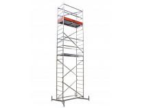 Алюмінієва вишка-тура KRAUSE ClimTec (базова конструкція+перша надбудова+друга надбудова) 7 метрів