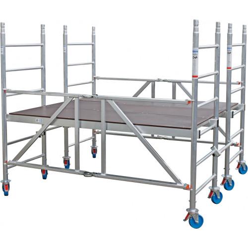 Алюмінієва вишка-тура KRAUSE ProTec XS-P 2,9 метра