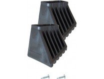 Наконечник опори стремянки 33х20 мм, XL (пара) KRAUSE Monto