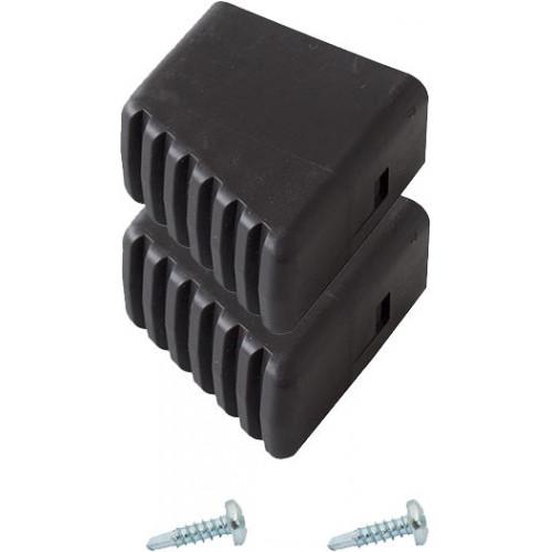 Наконечник опоры (пара) для стремянок KRAUSE Solidy и Safety 40x20 мм