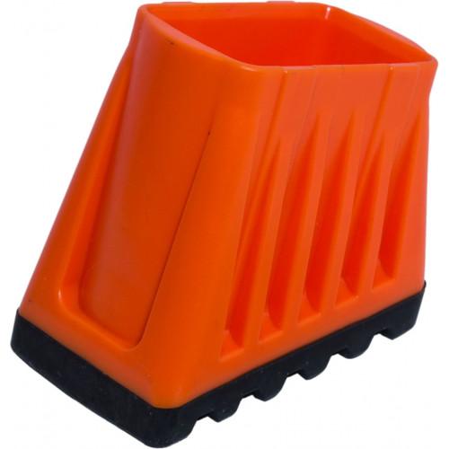 Наконечник опори стремянки (пара) 33x20 мм, 2-компонентний, прорезинений KRAUSE Monto