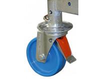 Комплект роликів 125 мм (4 штуки) для вишок-тура KRAUSE Monto