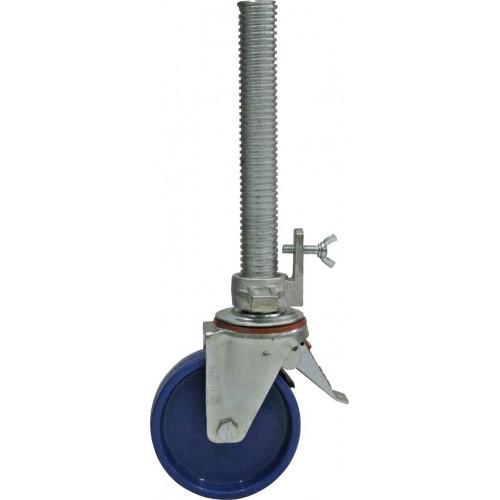 Регулируемый по высоте ролик 150 мм для вышек-тура KRAUSE Monto