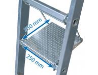 Размер платформы 250х250 мм