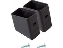 Наконечник опоры (пара) для стремянок KRAUSE Solidy и Safety 33x20 мм