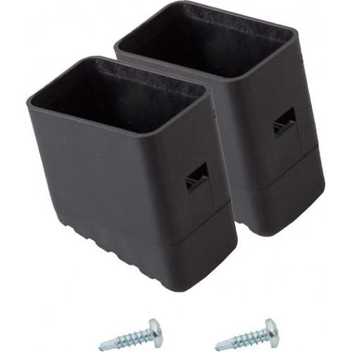 Наконечник опори (пара) для стремянок KRAUSE Solidy та Safety 33x20 мм