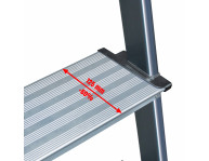 Комфортні сходинки шириною 125 мм
