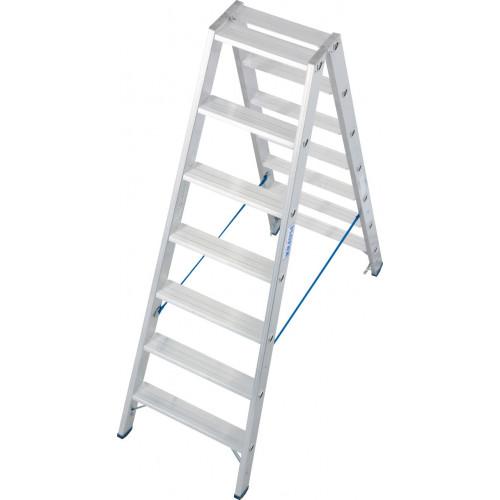 Двостороння стремянка KRAUSE Stabilo 2x7 сходинок