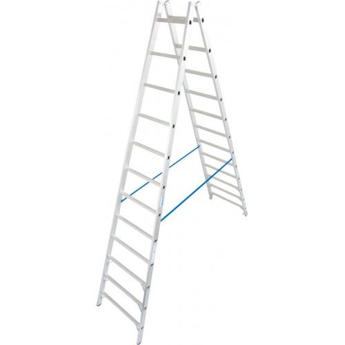 Двостороння стремянка з перекладинами KRAUSE Stabilo 2x12 сходинок