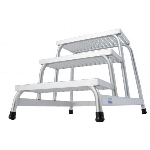 Монтажна підставка з решітчатими сходами KRAUSE Stabilo 3 сходинки
