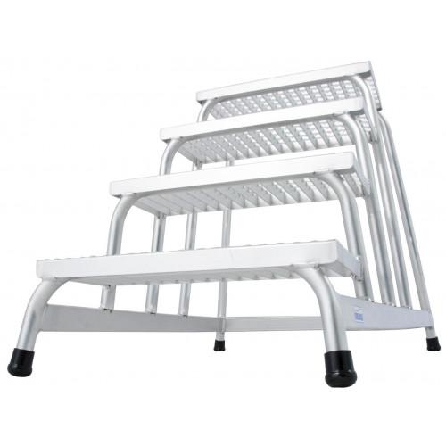 Монтажна підставка з решітчатими сходами KRAUSE Stabilo 4 сходинки