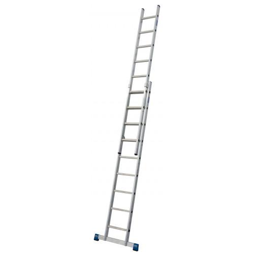 Приставная 2-секционная лестница KRAUSE Stabilo 2x9 ст.