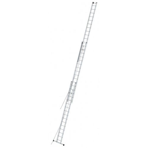 Приставная 3-секционная лестница, выдвигаемая тросом KRAUSE Stabilo 3x16 ст.