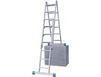 Комбінована шарнірна драбина KRAUSE Stabilo 2x3 і 2x6 сходинок
