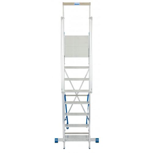 Передвижна стремянка з великою платформою KRAUSE Stabilo 8 сходинок
