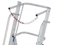 Два поручні, висока дуга безпеки (1м) та ланцюг для безпечної та комфортної роботи