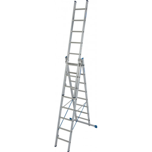 Универсальная 3-секционная лестница KRAUSE Stabilo 3х8 ст.