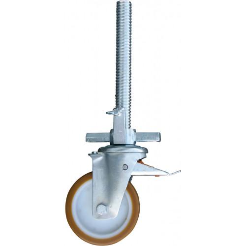 Обрезиненный ролик 150 мм для вышек-тура KRAUSE Stabilo