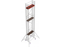 Вышка-тура KRAUSE Stabilo серии 10 (2х0,75 м), 11,4 метра