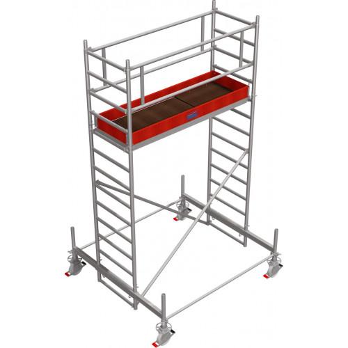 Вышка-тура KRAUSE Stabilo серии 100 (2х0,75 м), 4,4 метра