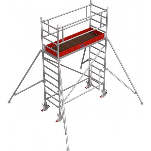 Вышка-тура KRAUSE Stabilo серии 1000 (2х0,75 м), 4,3 метра