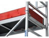 Платформа легко навішується між перекладинами (крок - 25 см). Виключаються трудомісткі операції переналагодження та демонтажу