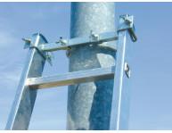 Для драбин з внутрішньою шириною 300-400 мм