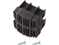 Наконечник опори діелектричний (пара) 64x25 мм KRAUSE Stabilo