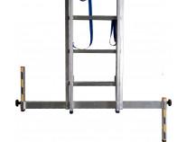 Універсальна траверса для вирівнювання поверхні KRAUSE, L=875 мм