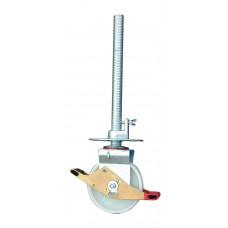 Регулюємий по висоті ролик 200 мм для вишок-тура KRAUSE Stabilo